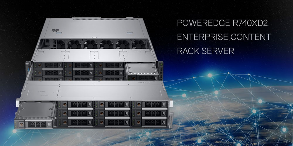 POWEREDGE R740XD2 - New generation server for Business