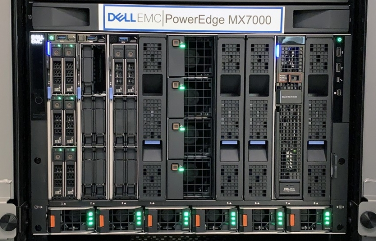 "DELL POWEREDGE MX7000 - ""BONE LIFE"" for professional working system"