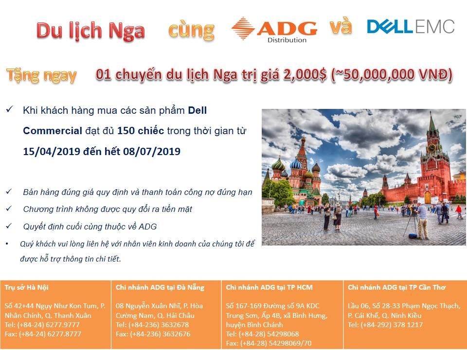Cùng Dell EMC & ADG du lịch Nga